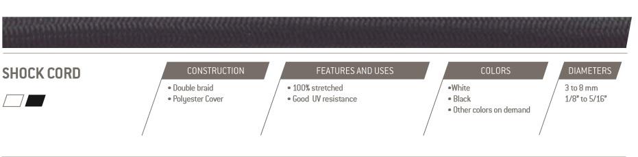 Shockcord 3mm