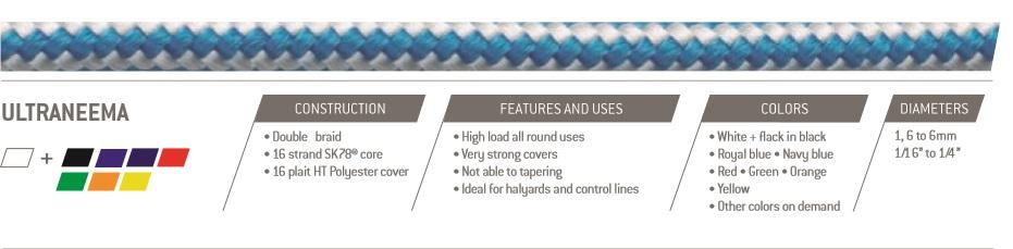 Alpha ropes Ultraneema 5mm