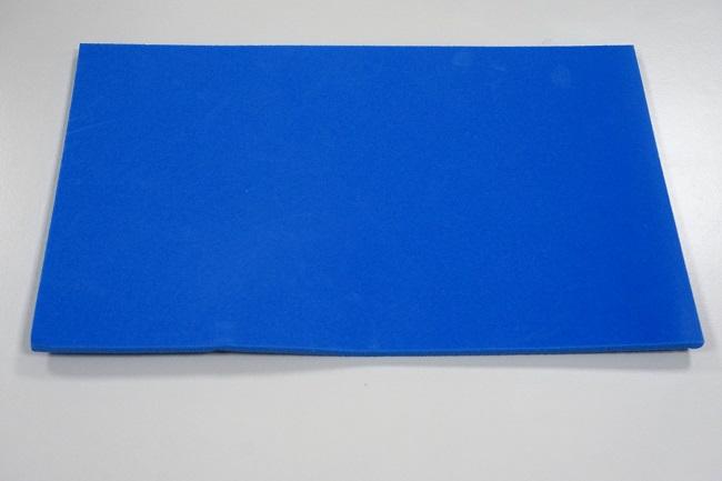 Eurotrax padding foam for cradle (blue)